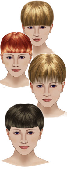 bangs fringe hairstyle haircuts hair design