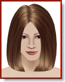 long bob haircut image
