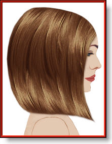 long bob haircut result profile image