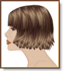 medium length bob hairstyle haircut image
